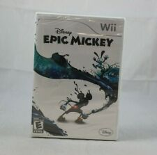 Epic Mickey Nintendo Wii Brand New Factory Sealed