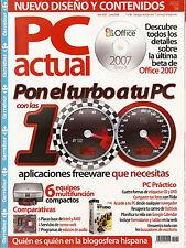 PC Actual Junio 2006 Nº 186 - EN BUEN ESTADO!!!