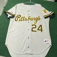 AUTHENTIC RAWLINGS PIRATES BARRY BONDS JERSEY SIZE 44 LARGE MLB RARE VINTAGE