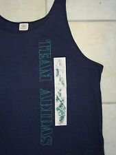 Vintage 80's Team Adidas Sports Apparel Sleeveless Tank Top T Shirt XL
