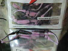 """Lake Fork 2 1/4"""" LBS Live Baby Shad Model 2500-801 in BLACK/PINK"""