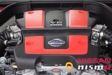 NISSAN OEM GENUINE NISMO FRONT RED ENGINE TRIM COVER FOR 370Z G37 Q40 60 VQ37VHR