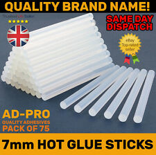 CLEAR HOT MELT GLUE STICKS 100x7MM FOR DIY TRIGGER ELECTRIC MINI CRAFT GLUE GUN
