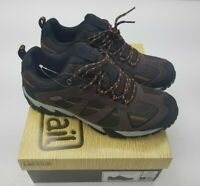 Mens Low Hiker Shoes Lake & Trail Waterproof Sz 10