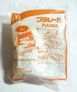 McDONALDS PLA RAIL Series Dr Yellow Class 923 Toy Kids MINT 2011 Hong Kong