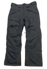 THE NORTH FACE Freedom Ski Snowboard Insulated Pants Mens Size M Gray DryVent