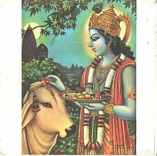 RADHA KRISHNA TEMPLE--PICTURE SLEEVE ONLY----(GOVINDA)--PS--PIC--SLV