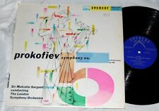 SIR MALCOM SARGENT PROKOFIEV SYMPH. NO.5 EVEREST LPBR 6034 VG+