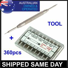 SPRING BAR PINS WATCHMAKERS TOOL Link Remover For Wrist Watch Band Strap Repair
