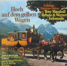 TONY MARSHALL - RENATE & WERNER LEISMANN - HOCH AUF DEM GELBEN WAGEN - LP