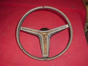 1970 Mercury Cougar Ford Mustang Rim Blow Steering Wheel Used Core Rough