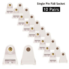 10 Pairs T8 Single Pin Slimline Fa8 Base Replacement Fluorescent Plunger Socket