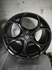 """Kit Cerchi in lega 19"""" originali Alfa Romeo Giulia Veloce 156107474 156107525"""