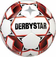 Derbystar Fußball Apus TT weiß rot Gr 5