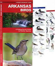 Arkansas Birds A Folding Pocket Guide to Familiar Species NEW
