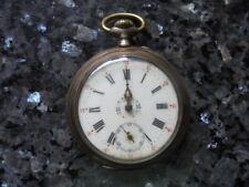 belle montre a gousset  en argent a remontoir
