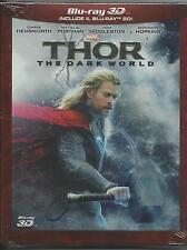 Thor. The dark world 3D (2013) 2 Blu Ray slipcase
