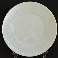 "4 Vista Alegre Sagres White Swirl Porcelain 10"" Dinner Plate Portugal Qty"