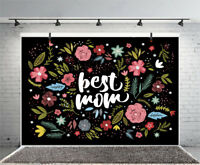 7x5ft Flowers Mothers' DAY Theme Props Backdrop Studio Photography Backgrounds