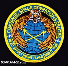 USAF COMBINED SPACE OPERATIONS CENTER - CSpOC - VAFB - ORIGINAL VEL PATCH
