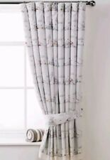 "Unisex Baby Winnie The Pooh Toddler Junior Fully Lined Curtains TapeTop 66""x55""D"
