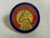 Vintage 1984 Keeneland Club Member Lapel Pin Horse Racing Breeders Cup #268 Rare