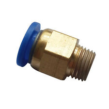 """8 mm Tube Push in Fitting to 1/8"""" BSPT Male Air Pneumatic Connector"""