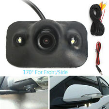 CCD 170° Car Front View Side View Blind Spot Camera Waterproof Night Vision HD