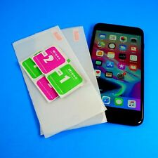 Tempered Glass OR Plastic Screen Protectors Lot for Apple Iphone 8