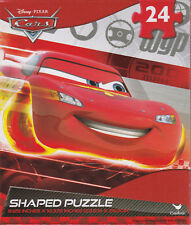 "Jigsaw Puzzle Disney CARS - WPG Flag Shaped 24 pieces 9x10"" S3"