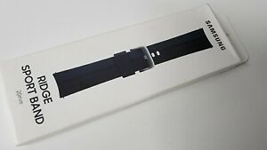 Official Genuine Samsung Galaxy Watch 3 / 4 Ridge Sport Band 20mm - Black