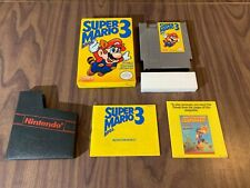 Super Mario Bros. 3 (Nintendo NES) Complete in Box -- Bros on the left -- Tested