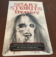 Alvin Schwartz Scary Stories to Tell In The Dark More 3 Treasury Stephen Gammell