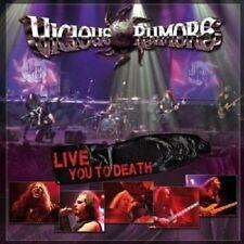 Vicious Rumors-Live You to Death CD 11 tracks hard & heavy/Heavy Metal Nuovo