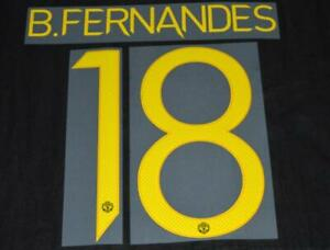 Manchester United 2021/22 Champions league/FA Cup Name/Number B.Fernandes 18 T