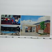Vintage Postcard Ramada Inn Clearwater Florida 1970s Oversize
