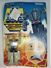 Original GoBots Gray Leader-1 sealed by Tonka New