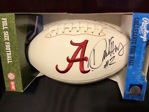 Derrick Henry Hand Signed Full Size Alabama Stitched Football 🔥🔥🔥