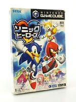 Sonic Heroes - Nintendo Gamecube JAP Japan complet
