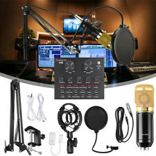 More details for bm800 condenser microphone kit with v8x multifunctional bluetooth sound card
