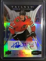 2019-20 Upper Deck Trilogy Rookie Premieres Auto Kirby Dach /399
