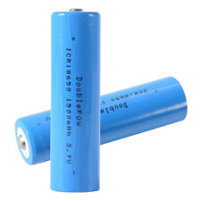2x 3.7V 1500mAh 18650 Rechargeable Li-ion Battery Lithium-ion High-CapacityBC877