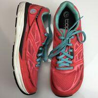 Topo Fli-lyte 2 Running Shoes Pink Salmon Blue Womens Sneakers Size 11