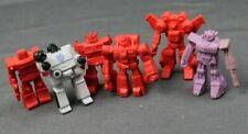 """Vintage Transformers LOT """"Decoys"""" Optimus Windcharger Tracks Shockwave Scrapper"""