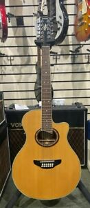 YAMAHA APX 8 12-STRING ELECTRO-ACOUSTIC GUITAR, USED
