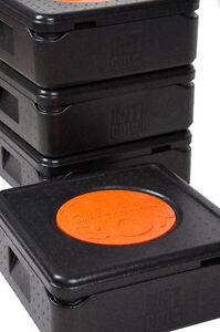 4er Set Thermobox Pizza NH100 Kühlbox Isolierbox Warmhaltebox Pizzabox The Box