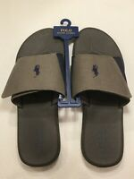 Polo Ralph Lauren Polo Alim Gray- Adjustable Slides/Sandals - Select your Size