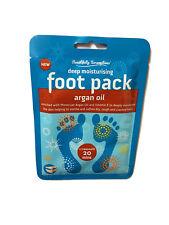 Foot Pack Deep Moisturising Socks With Moroccan Argan Oil