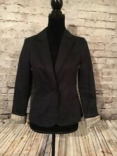 American Eagle Outfitter Women's/Juniors Navy Blue Blazer. Size: Small.
