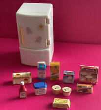 sylvanian families fridge Freezer Set Food Other Accessoris Ec